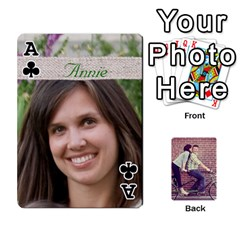 Ace Cards By Jessica   Playing Cards 54 Designs   H4y97ijv0aa2   Www Artscow Com Front - ClubA
