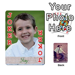 Cards By Jessica   Playing Cards 54 Designs   H4y97ijv0aa2   Www Artscow Com Front - Joker2