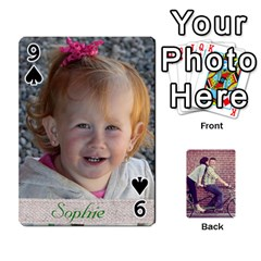 Cards By Jessica   Playing Cards 54 Designs   H4y97ijv0aa2   Www Artscow Com Front - Spade9