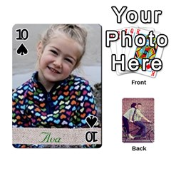 Cards By Jessica   Playing Cards 54 Designs   H4y97ijv0aa2   Www Artscow Com Front - Spade10