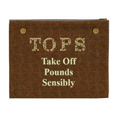 Tops2 By Cheryl   Cosmetic Bag (xl)   K6j8bqmclh8n   Www Artscow Com Back
