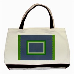 Green Frames By Daniela   Basic Tote Bag (two Sides)   Fc0g799ian34   Www Artscow Com Front