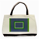 Green frames - Basic Tote Bag (Two Sides)