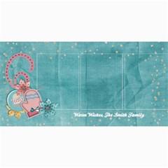 Warm Wishes/toasty/mitten 4x8 Holiday Photo Card By Mikki   4  X 8  Photo Cards   Ifwjqaxmdv1p   Www Artscow Com 8 x4 Photo Card - 4