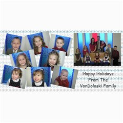 Vondo Christmas Card By Jamee Garrison   4  X 8  Photo Cards   1o7d4y7ww8zb   Www Artscow Com 8 x4 Photo Card - 8