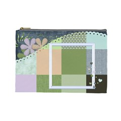 Cosmetic Bag Large Blustery Day 1001 By Lisa Minor   Cosmetic Bag (large)   Wqdnrnxpu2hv   Www Artscow Com Front