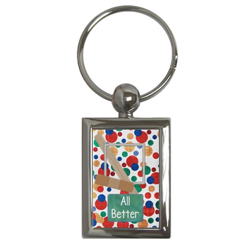 Keychain All Better 1002 By Lisa Minor   Key Chain (rectangle)   Bwxlbs3epw5x   Www Artscow Com Front