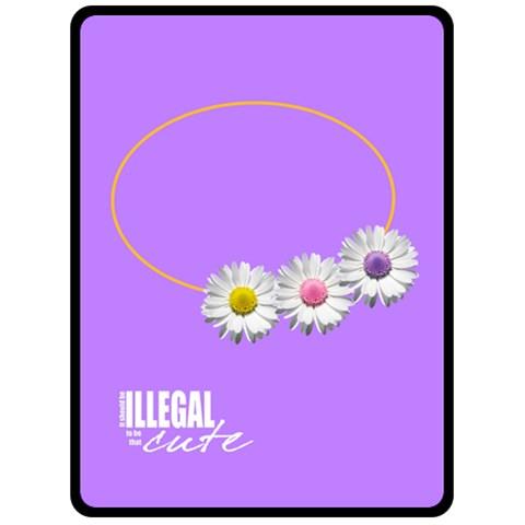 Cute Flowers   Blanket (xl) By Carmensita   Fleece Blanket (large)   0cf080zxnk3t   Www Artscow Com 80 x60 Blanket Front