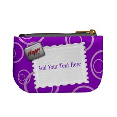 Purple Mini Custom Coin Purse By Purplekiss   Mini Coin Purse   1ybvhbgk4wew   Www Artscow Com Back