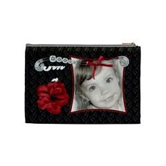 Fancy Styled Cosmetic Bag By Sheri Ellis   Cosmetic Bag (medium)   Ltcpsiexffu8   Www Artscow Com Back