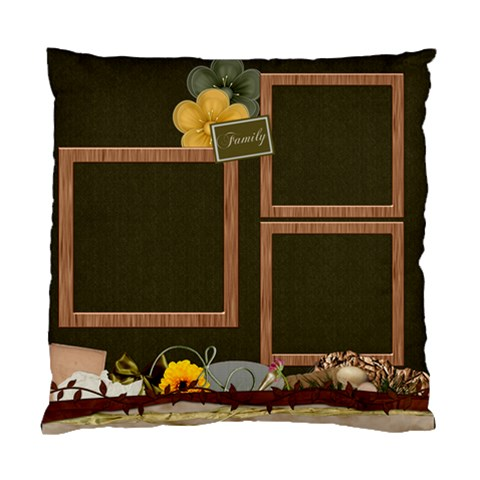 Pillow Autumn Story 1001 By Lisa Minor   Standard Cushion Case (one Side)   Dyfr24xzzh7r   Www Artscow Com Front