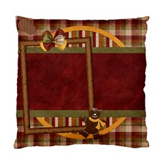 Pillow Gingy Holiday 1001 By Lisa Minor   Standard Cushion Case (two Sides)   E4a982ijuf4g   Www Artscow Com Front
