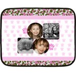 Pink Princess Fleece - Fleece Blanket (Mini)