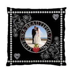 Wedding Memories 2 Sided Cushion By Lil    Standard Cushion Case (two Sides)   Dmblnhb0u9rj   Www Artscow Com Front