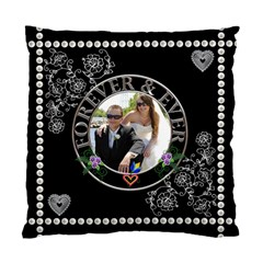 Wedding Memories 2 Sided Cushion By Lil    Standard Cushion Case (two Sides)   Dmblnhb0u9rj   Www Artscow Com Back