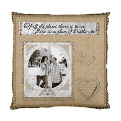 There s No Place Like Home 2 Sided Cushion By Lil    Standard Cushion Case (two Sides)   M468kbo9ngf7   Www Artscow Com Back