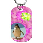 Floral Fun Dog Tag - Dog Tag (One Side)