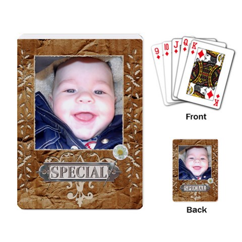 Special Playing Cards By Lil    Playing Cards Single Design   0qtlaw6w2ug6   Www Artscow Com Back