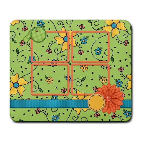 Mousepad Fanciful Fun 1002 By Lisa Minor   Large Mousepad   Ou736a8qm5ap   Www Artscow Com Front