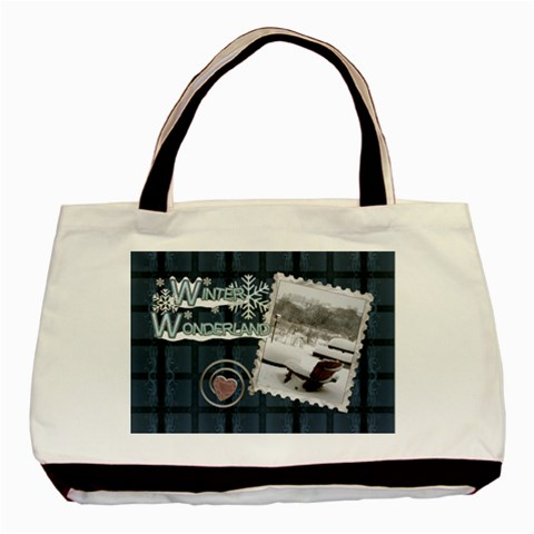 Winter Wonderland Classic Tote Bag By Lil    Basic Tote Bag   42v1ttms8ijg   Www Artscow Com Front