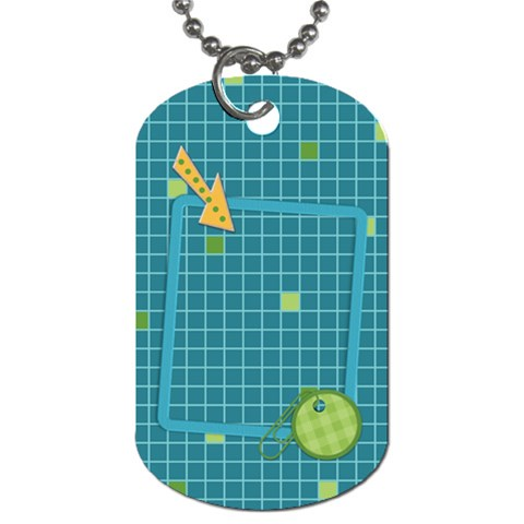 Dog Tag Fanciful Fun 1001 By Lisa Minor   Dog Tag (one Side)   Tirn18w651ic   Www Artscow Com Front