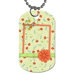 Dog Tag-Fanciful Fun 1002 - Dog Tag (One Side)