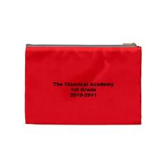 1st Grade Christmas Present By Julie Mcdonald   Cosmetic Bag (medium)   Q691glf33iht   Www Artscow Com Back