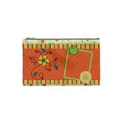 Cosmetic Bag Small Fanciful Fun 1001 By Lisa Minor   Cosmetic Bag (small)   Zx4n5rnh2iv4   Www Artscow Com Front