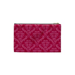 Pink Small Cosmetic Bag By Klh   Cosmetic Bag (small)   Vtwh1w2ba5av   Www Artscow Com Back