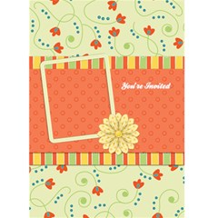 Fanciful Fun Card Invitation 1001 By Lisa Minor   Greeting Card 5  X 7    9shlem3inojn   Www Artscow Com Front Cover