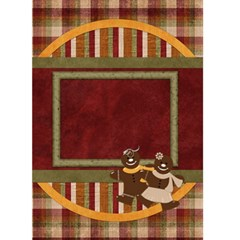 Gingy Holiday Christmas Card 1001 By Lisa Minor   Greeting Card 5  X 7    A6hm7mlt3iqi   Www Artscow Com Front Cover