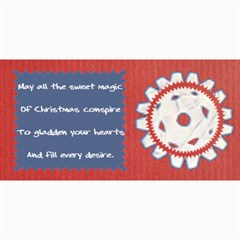 Christmas Cards By Daniela   4  X 8  Photo Cards   G9by7kg4d79i   Www Artscow Com 8 x4 Photo Card - 4