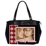 christmas - Oversize Office Handbag (2 Sides)