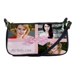 Baby pink bag - Shoulder Clutch Bag