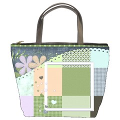 Blustery Day Bucket Bag 1001 By Lisa Minor   Bucket Bag   Y2r8kkpnpoqd   Www Artscow Com Front
