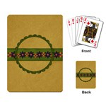 Gypsy Fall Playing Cards 1002 - Playing Cards Single Design