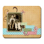 happy family  mouse pad 2 - Large Mousepad