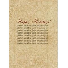 Scrapdzines  Holiday Card 1 By Denise Zavagno   Greeting Card 5  X 7    Q4o5cv8zprpq   Www Artscow Com Back Inside
