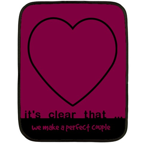 Perfect Couple   Blanket By Carmensita   Fleece Blanket (mini)   Jinkidcesbyf   Www Artscow Com 35 x27 Blanket