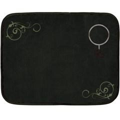 Mom Blanket By Casey Collins   Double Sided Fleece Blanket (mini)   O16w4plxh59w   Www Artscow Com 35 x27 Blanket Back