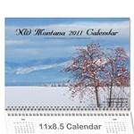 NW Montana 2011 Calendar - Wall Calendar 11  x 8.5  (12-Months)