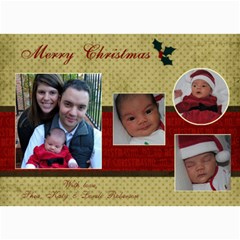 5 X 7 Christmas Cards By Katy   5  X 7  Photo Cards   Vltcy6o2zmrh   Www Artscow Com 7 x5 Photo Card - 6