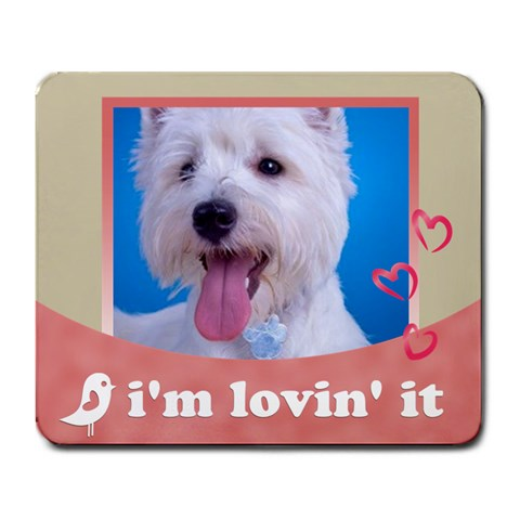 My Pet By Joely   Large Mousepad   Tvzszd90y8o2   Www Artscow Com Front