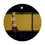 Gypsy Fall 2 Sided Ornament 1003 - Round Ornament (Two Sides)
