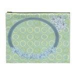 flower-framed cosmetic bag XL 3 - Cosmetic Bag (XL)