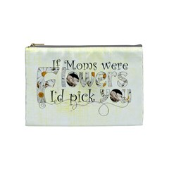 Mom By Catvinnat   Cosmetic Bag (medium)   Ywx5xh8pntcz   Www Artscow Com Front