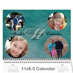 Making Calendar By Mandy Morford   Wall Calendar 11  X 8 5  (12 Months)   3a9o5k1ntr2o   Www Artscow Com Cover