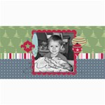 Merry Christmas Photo Card 2 - 4  x 8  Photo Cards