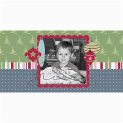 Merry Christmas Photo Card 2 By Martha Meier   4  X 8  Photo Cards   44qu9uiszmty   Www Artscow Com 8 x4 Photo Card - 2