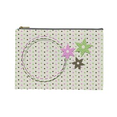 Little Princess Cosmetic Bag (large) By Chelsea Winsor   Cosmetic Bag (large)   Kxbkzrugxz1t   Www Artscow Com Front